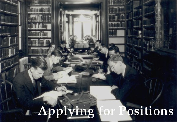 Westminster Theological Seminary - Applying for Positions