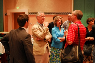 Dr. and Mrs. Oliphint at 2009 PCA GA