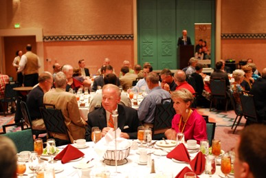 Dr. Reeder at the 2009 PCA GA Alumni dinner