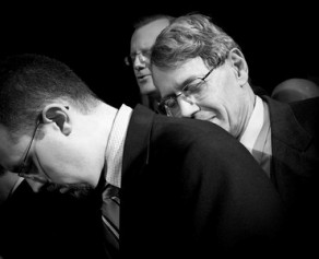 Dr. Ryken Prays for Drs. Jue and Tipton at Ordination